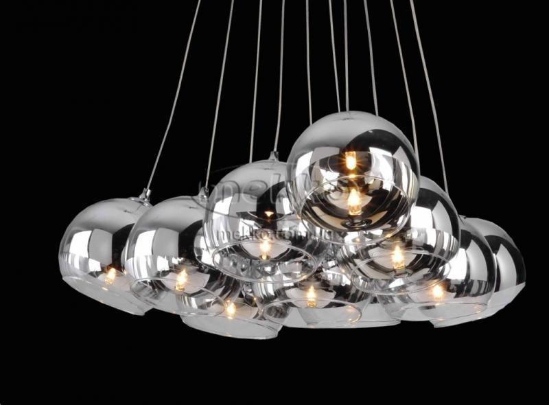 """Світильник підвісний """"L-011-20"""" (12х80 см) Carlo De Santi  Золотоноша"""